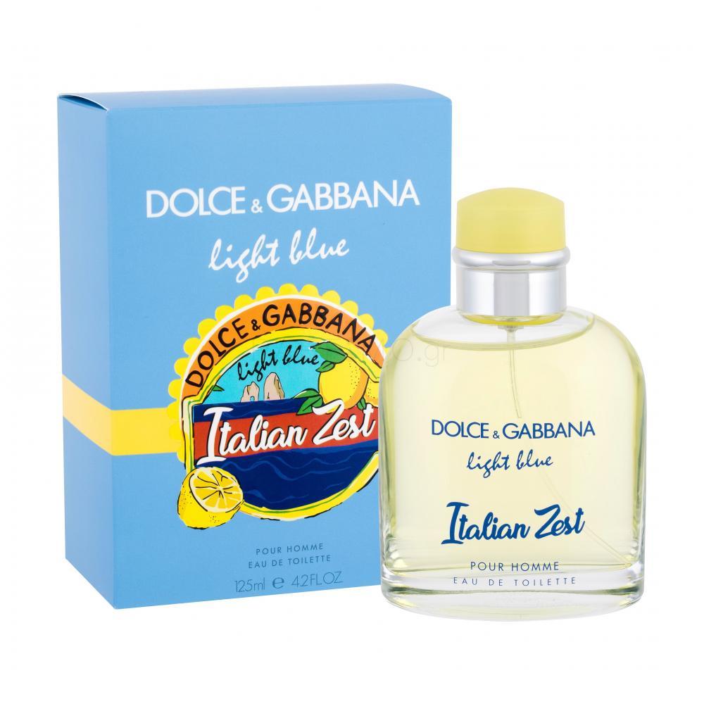 Dolce&Gabbana Light Blue Italian Zest Pour Homme Eau de ...