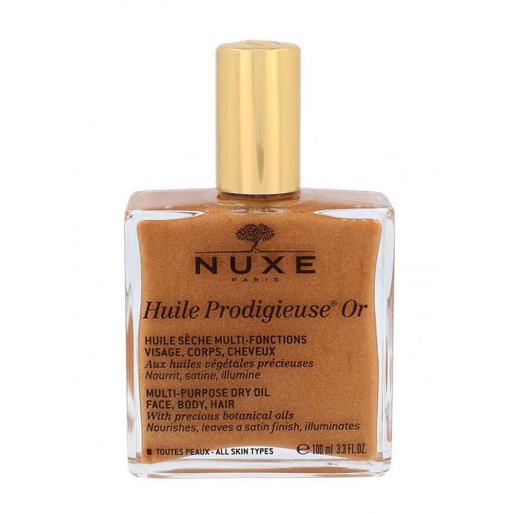 NUXE Huile Prodigieuse Or Multi Purpose Dry Oil Face, Body, Hair Λάδι σώματος Για γυναίκες 100 ml