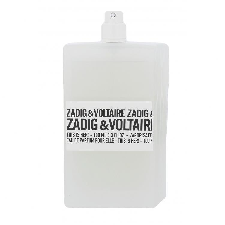 Zadig & Voltaire This is Her! Eau de Parfum για γυναίκες 100 ml TESTER